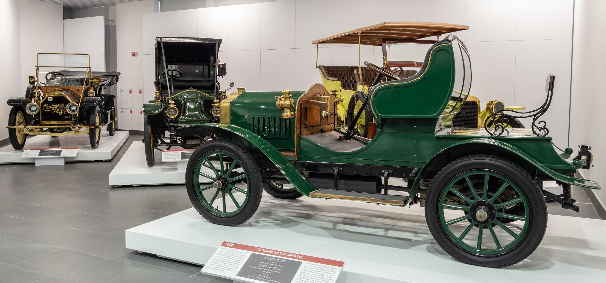 Cars from the late 19th to the early 20th centuries